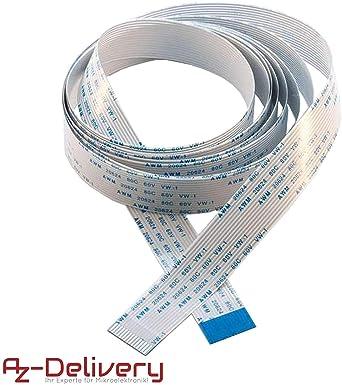 AZDelivery Cable de cinta flexible de repuesto Flex Cable 200 cm ...