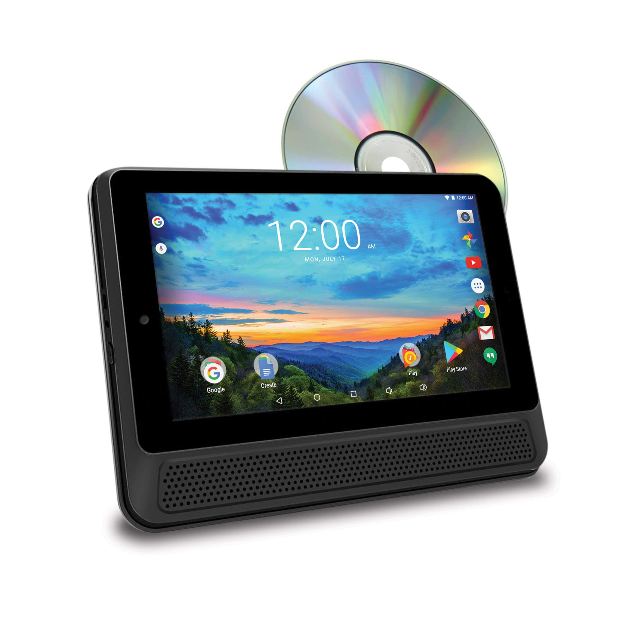 RCA (DRP2091N) 10'' Tablet & Portable DVD Player Combo - 16GB, Android 6.0