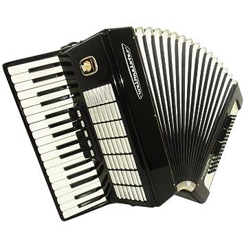 Weltmeister Stella, excelente teclado alemán acordeón para venta, 80 graves, 906, muy