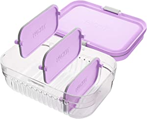 PackIt Mod Lunch Bento Food Storage Container, Peony