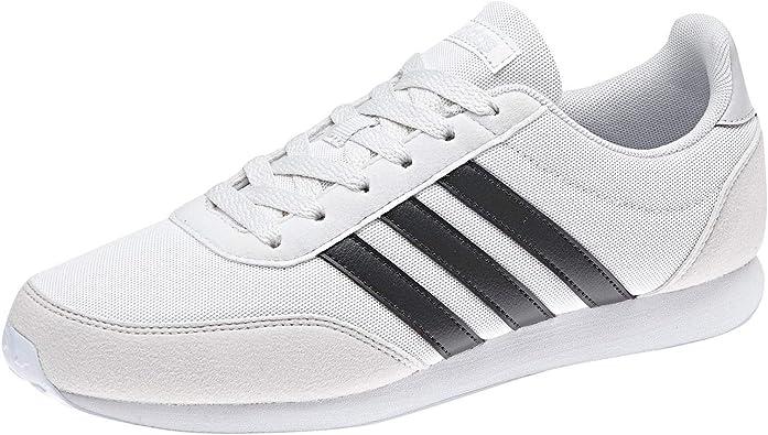 ensalada Uganda Concesión  Amazon.com | adidas - V Racer 20 - BC0106 (7.5, Crystal White S16 / Carbon  S18 / Aero Blue S18) | Fashion Sneakers