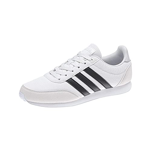 adidas V Racer 2.0 (7.5 M US, Crystal White S16 / Carbon S18 / AERO Blue  S18)