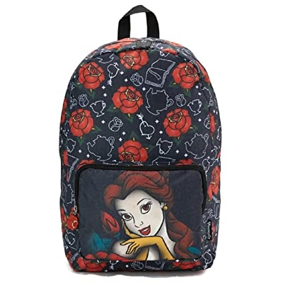 943fe8cc5ef Loungefly Disney Belle Beauty and The Beast Red Roses Backpack well-wreapped