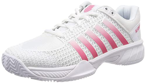 c3453765 K-Swiss Performance Women's Express Light Hb Tennis Shoes, White/Pink  Lemonade 175M