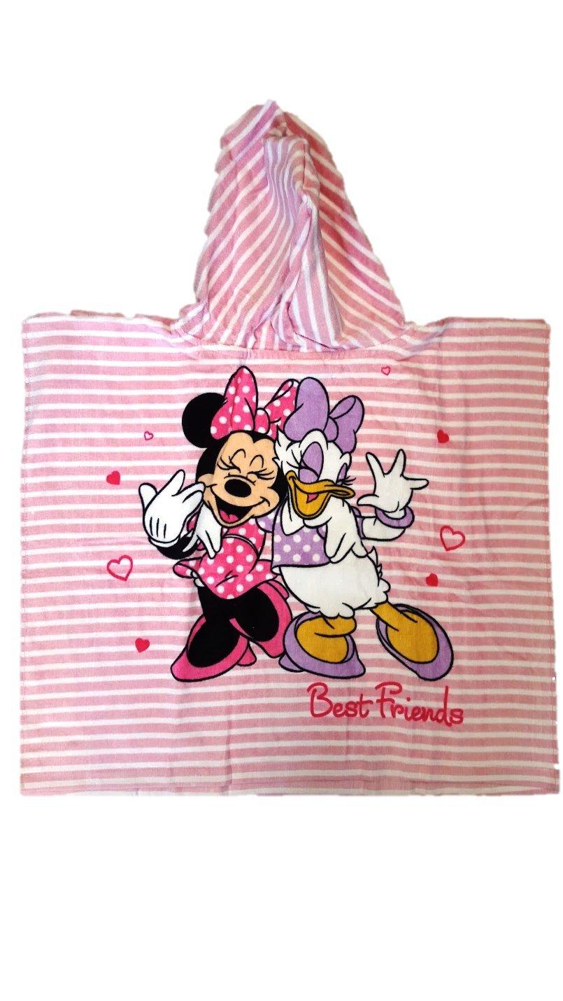 Minnie Best Friends Hooded Towel