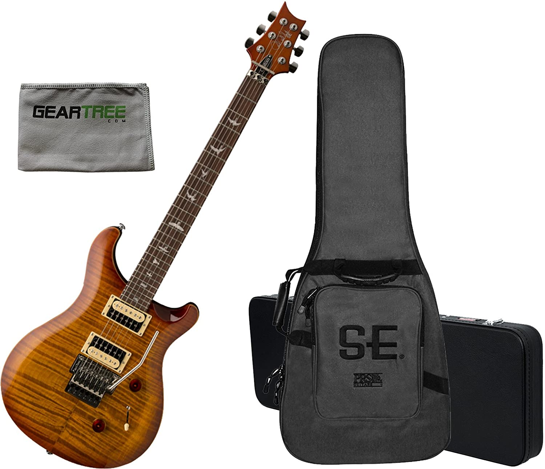PRS SE Custom 24 Floyd guitarra eléctrica Vintage Sunburst w ...