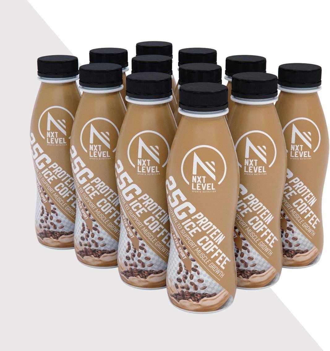 NXT Level Batido De Proteína - Café Helado 330 ml: Amazon.es ...