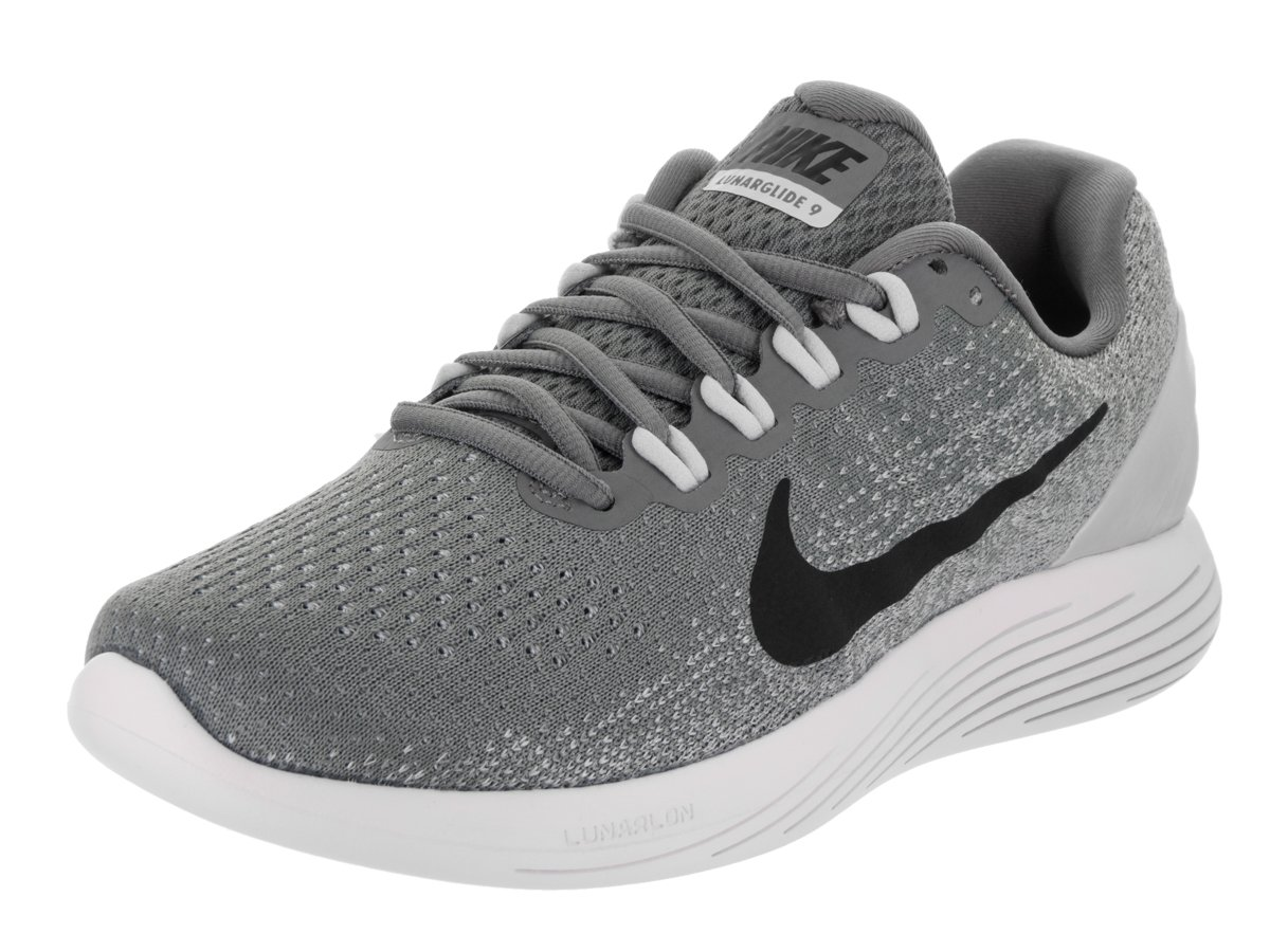 NIKE Women's Lunarglide 9 Running Shoe B01N8OOKHM 9 B(M) US|Cool Grey/Black-pure Platinum