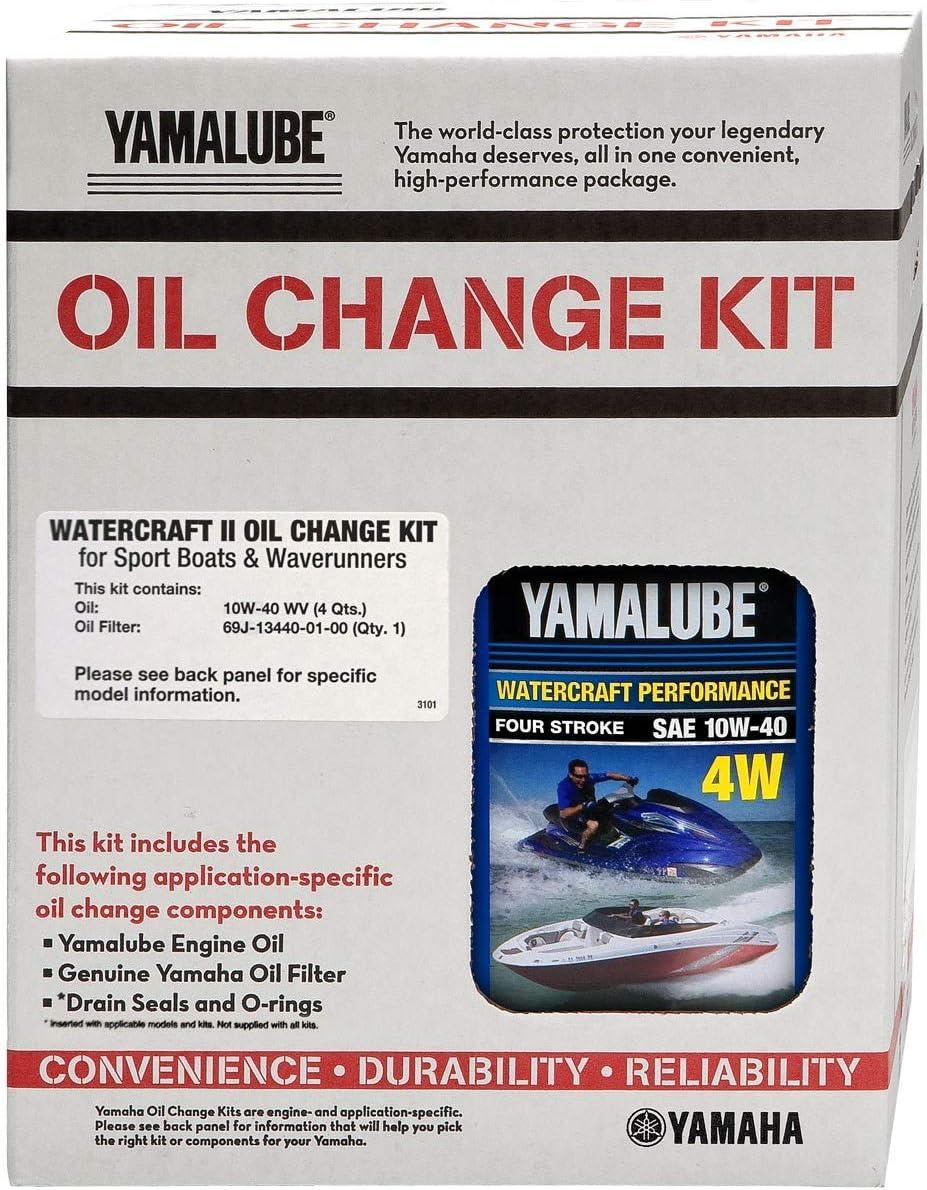 Yamaha OEM Oil Change Kit FX HO SHO SVHO FZR FZS VXR VXS GP1800 - LUB-WTRCG-KT-10