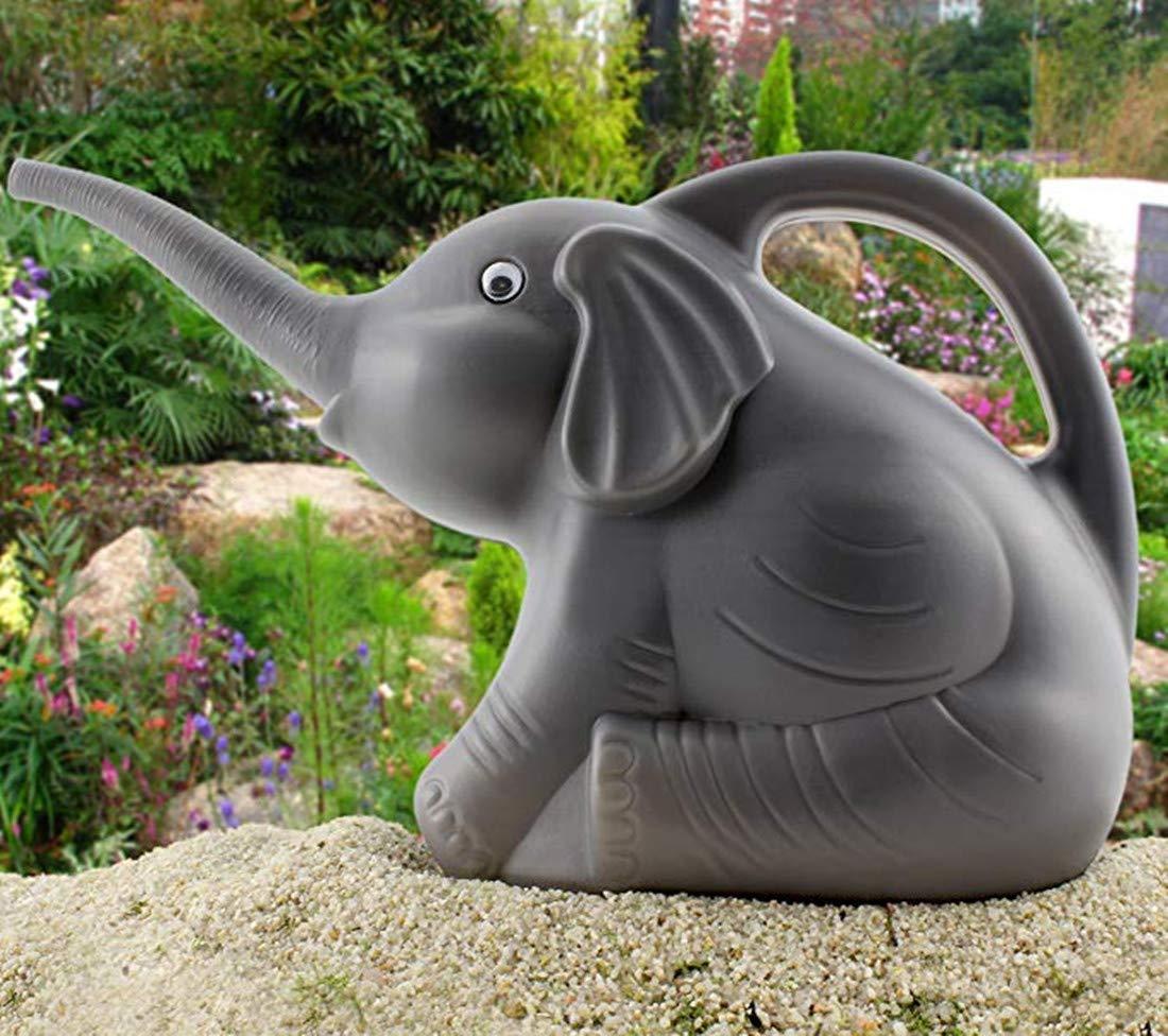 Amazon.com: Lindo bebé elefante regadera w/Real ojos, 2 ...