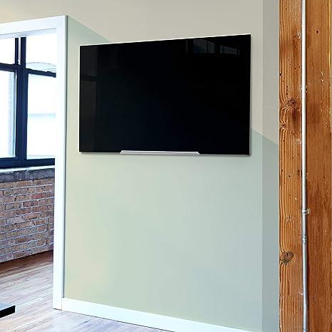 80 x 60 cm Dry Erase Tabla magn/ética con marco de madera