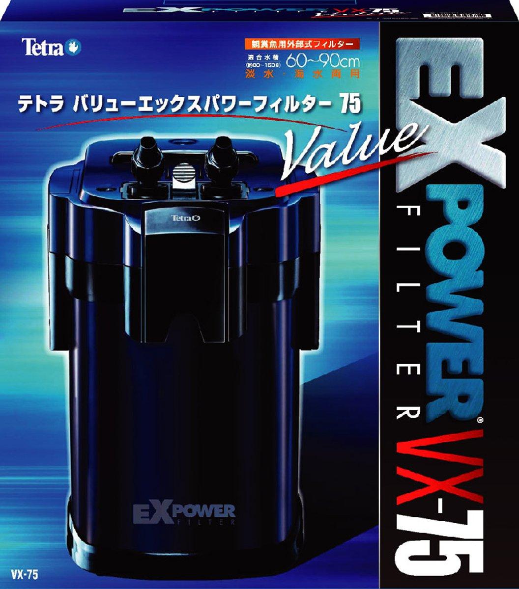 テトラ(Tetra) バリューパワーフィルター VX-75 60cm~90cm水槽用 淡水海水兼用