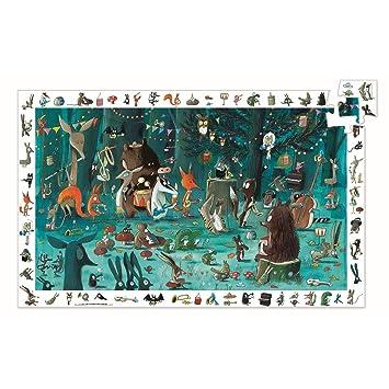 Amazon.com: Djeco : Puzzle découverte : Orquesta 35 mcx ...
