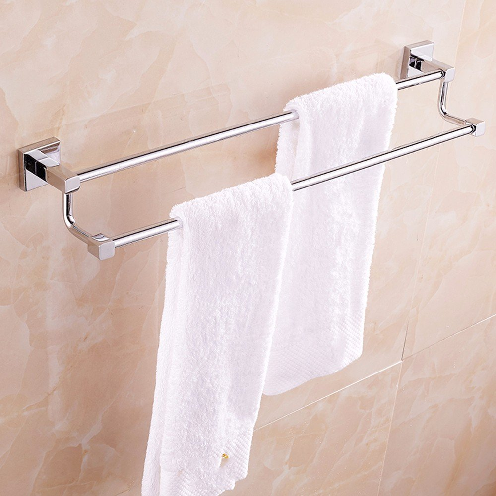 Yomiokla Bathroom Accessories - Kitchen, Toilet, Balcony and Bathroom Metal Towel Ring Folding Clothes Drying Rack Hanging Rack Outdoor Bay Windows of Shoe Holder Purple