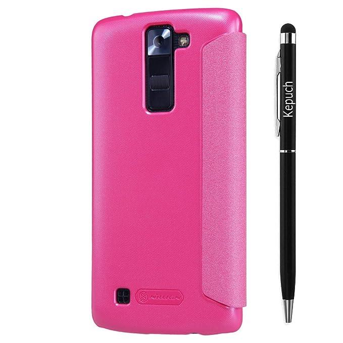 24 opinioni per Kepuch Sparkle LG G6 Custodia- Alta Qualità PU Pelle Custodia Shield Custodia