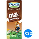 Lacnor Chocolate Milk - Pack of 32 Pieces (32 x 180 ml)