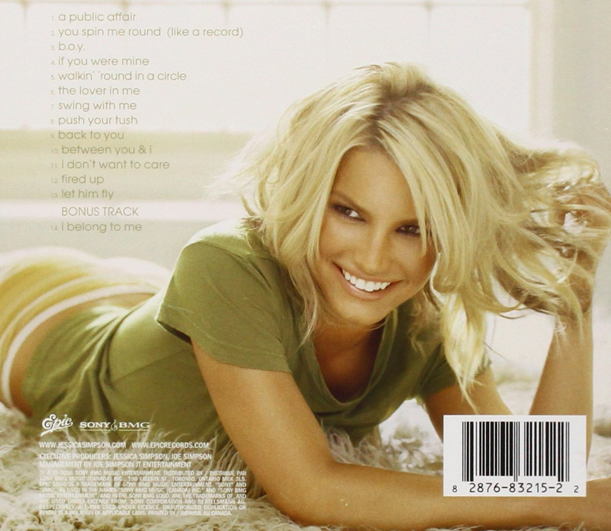 JESSICA SIMPSON - Public Affair - Amazon.com Music