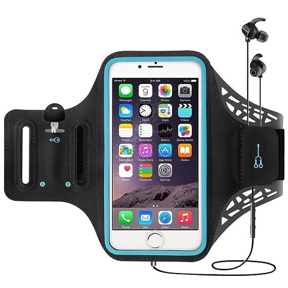 e1b645ce0ca Funda Deportiva de iPhone X para Brazo, CoWalkers Brazalete resistente al  agua con soporte para tarjeta ...
