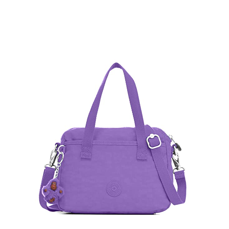 Kipling Women's Emoli Handbag One Size Purple Feather
