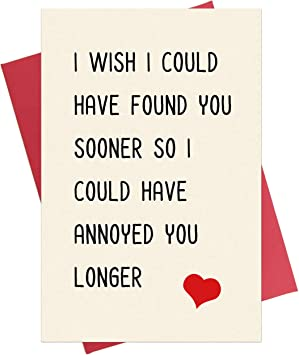 Magnificent Amazon Com Funny Anniversary Card Birthday Card Valentines Personalised Birthday Cards Veneteletsinfo