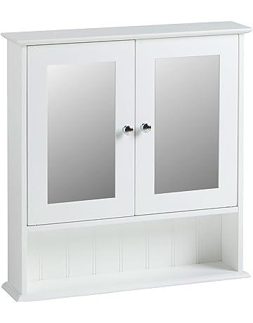 Armoires De Salle De Bain Avec Miroir Amazonfr