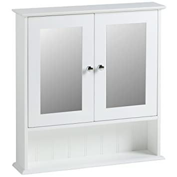 white bathroom mirror with shelf. vonhaus mirrored cabinet - white colonial style bathroom mirror storage unit with shelf r