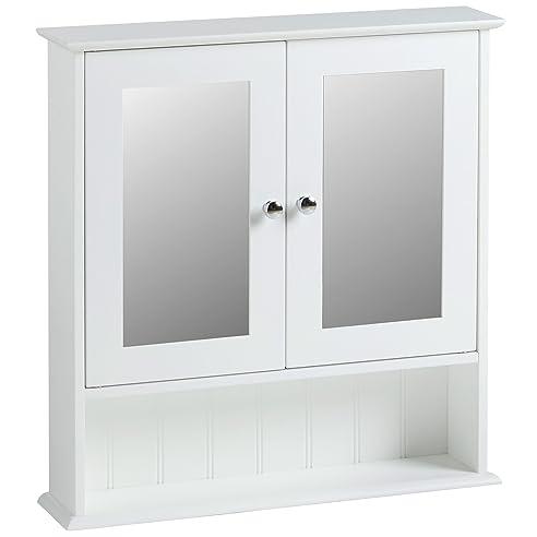 Vonhaus Spiegelschrank Fürs Badezimmer Im Kolonialstil: Amazon.De