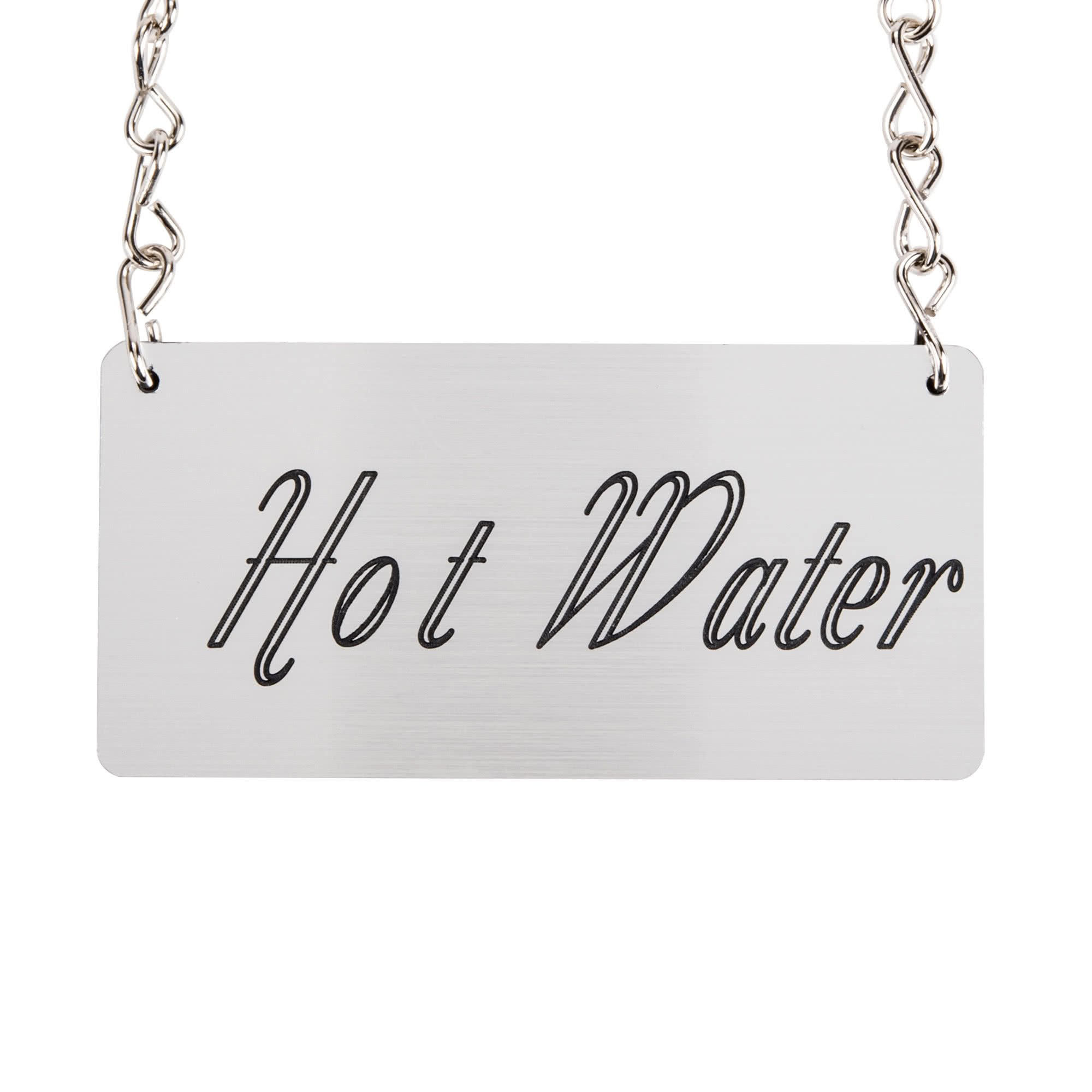 TableTop King 618-3 ''Hot Water'' Urn Chain Sign