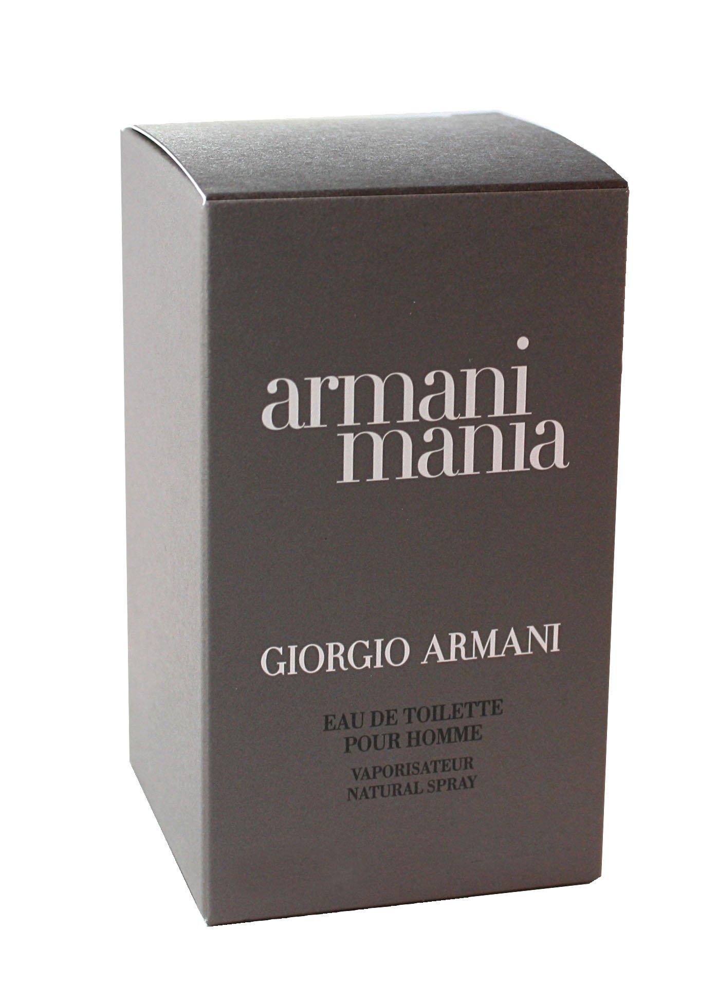 Mania By Giorgio Armani For Men. Eau De Toilette Spray 3.4 Ounces