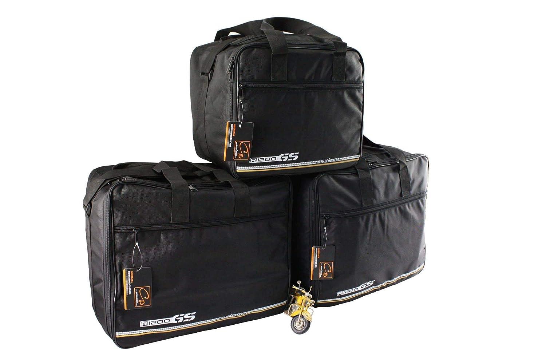 ADVENTURE ab Bj R1200 GS LC K51 2014 made4bikers: Set Koffer UND TopCase Innentaschen passend f/ür ALU-Koffer der BMW R1200GS-LC
