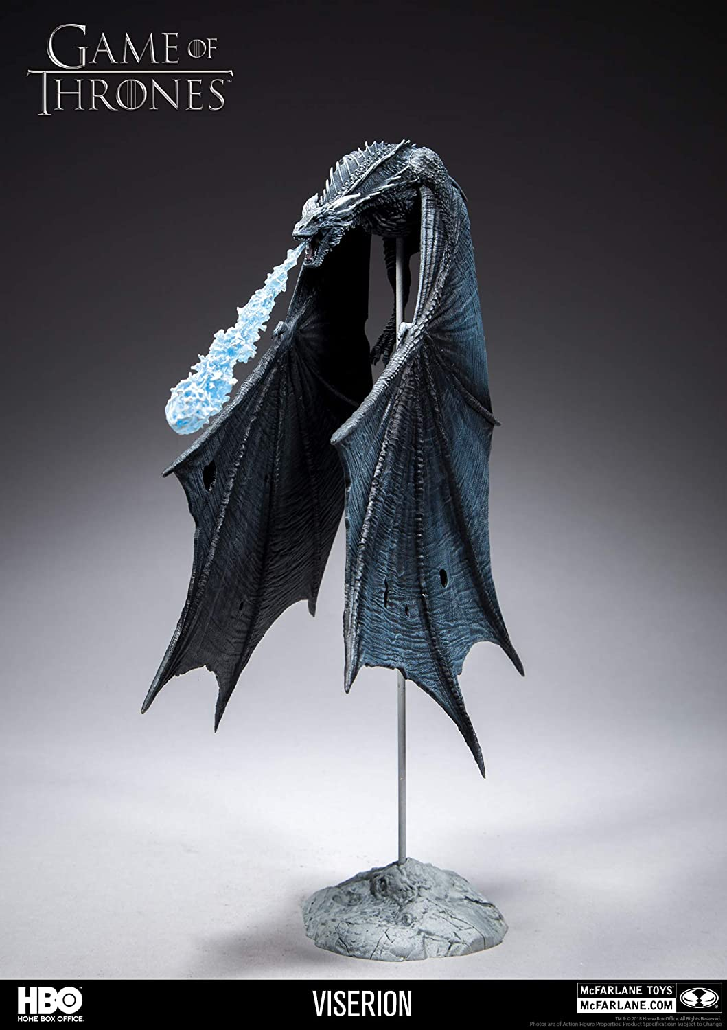 Game of Thrones Viserion Ice Dragon Deluxe