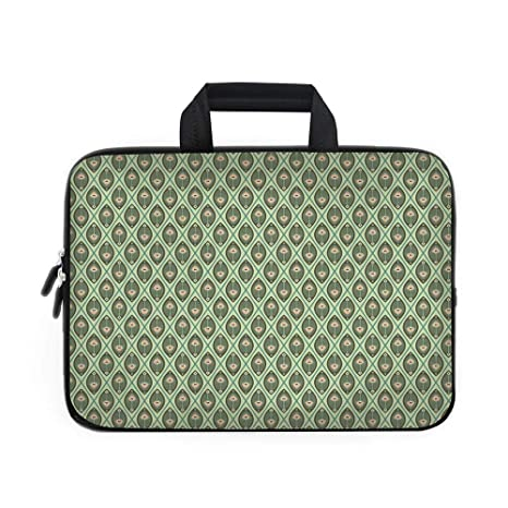 e00cee9ca53b Amazon.com: Geometric Laptop Carrying Bag Sleeve,Neoprene Sleeve ...