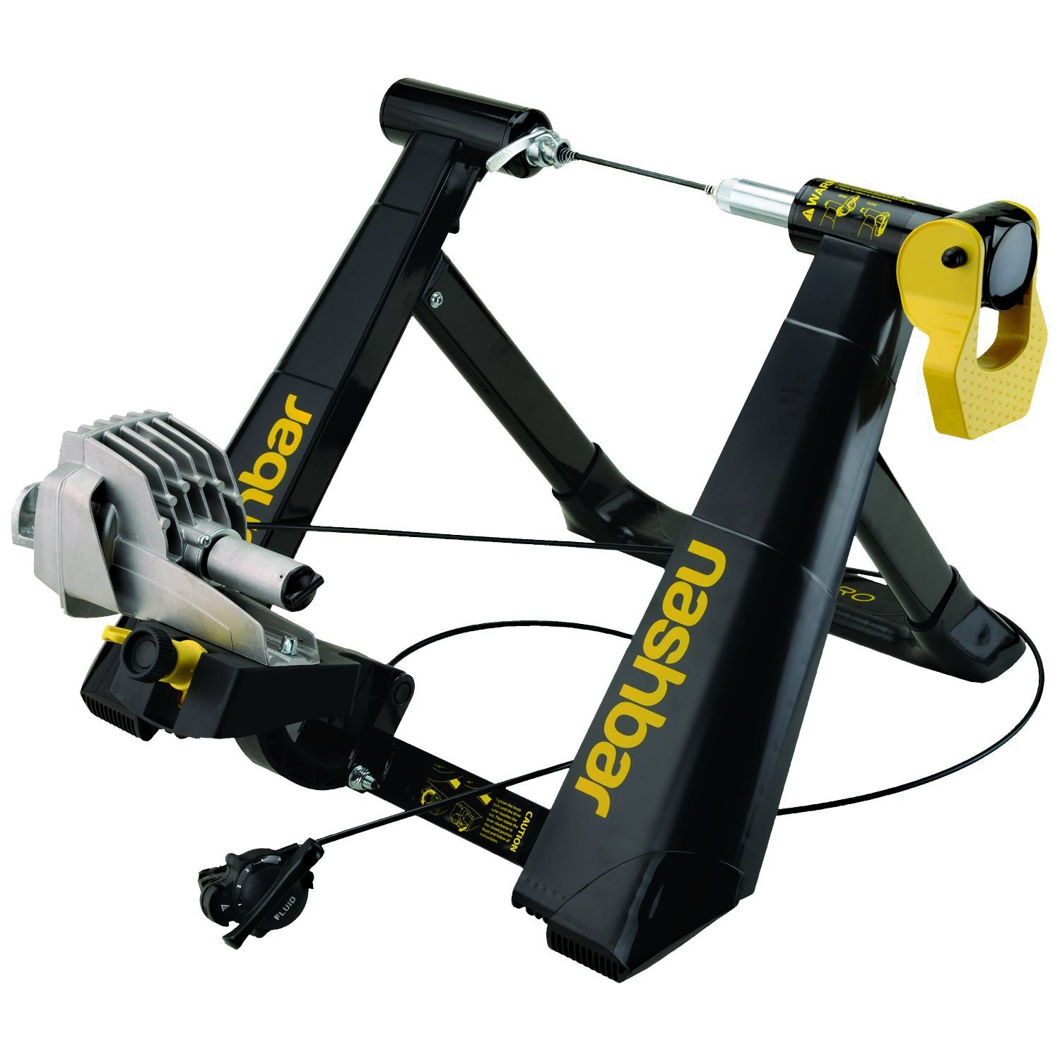 Nashbar Fluid Pro Trainer With Accessory Kit