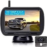 DoHonest V25 HD 1080P Digital Wireless Backup Camera System 5 Inch TFT Monitor for Trucks,Cars,SUVs,Pickups,Vans,Campers…
