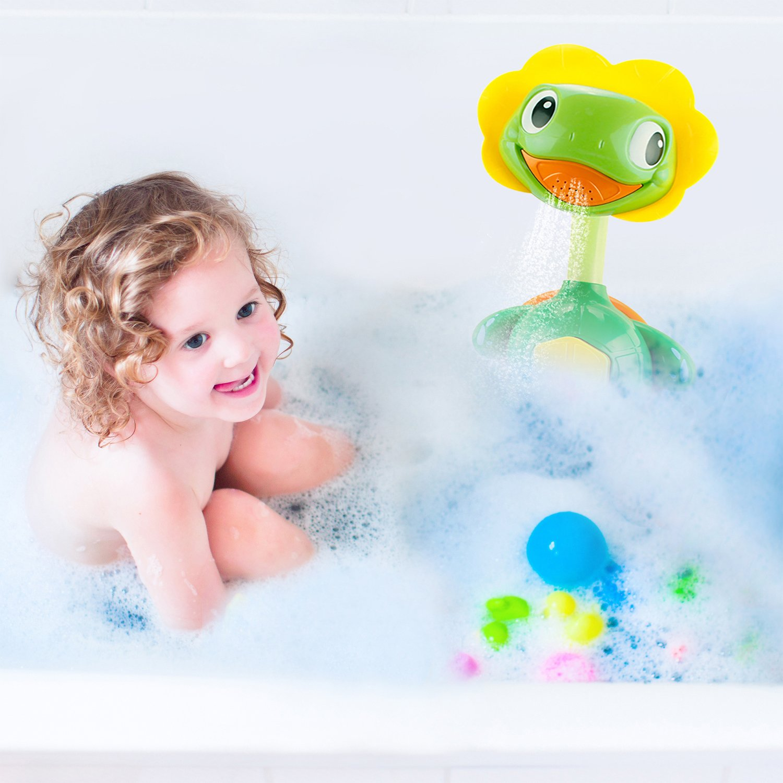 Amazon.com: Baby Bath Toys, Bathtub Spray Water Pump With Hand ...