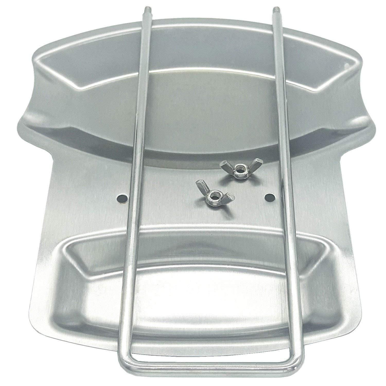 BeatlGem 1 unids Acero Inoxidable Pan Pot Cubierta Tapa Soporte de Cuchara Resto Estufa Organizador de Almacenamiento de Sopa Cuchara Reposa Herramienta de Cocina
