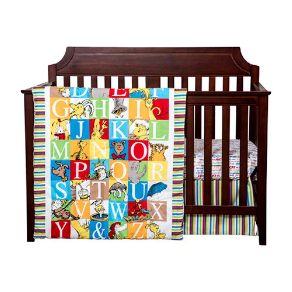 Trend Lab Dr. Seuss Alphabet Seuss Baby Bedding Collection 3-pc. Crib Set