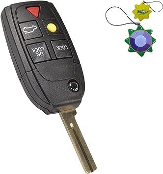2 For 2003 2004 2005VolvoXC90 Keyless Entry Remote Car Flip Key Fob