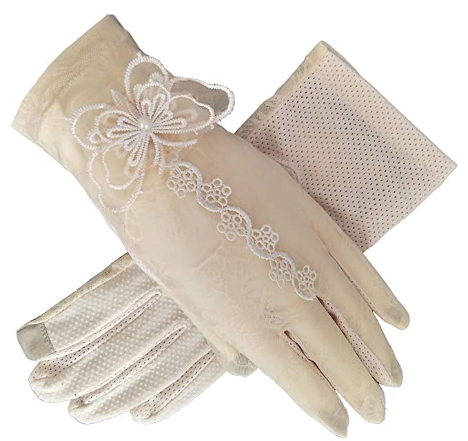 Vintage Style Gloves- Long, Wrist, Evening, Day, Leather, Lace Womens Bridal Wedding Lace Gloves Derby Tea Party Gloves Victorian Gothic Costumes Gloves $8.89 AT vintagedancer.com