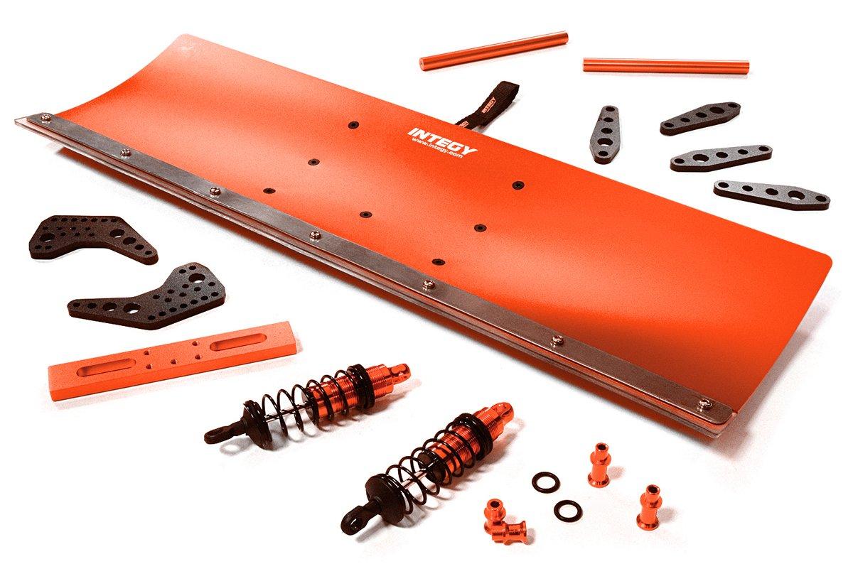 Integy RC C27059RED - Kit de nieve para Traxxas de escala 1/10, E-Maxx, sin escobillas