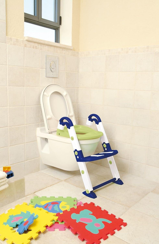Rotho KidsKit toilet- Trainer 3in 1, blau/weiß blau/weiß