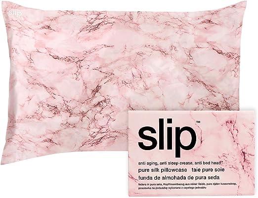 New Slip Pure Silk Pillowcase Standard White Queen //Standard Slipsilk.Retail $85