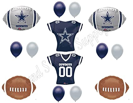 Image Unavailable. Image not available for. Color  DALLAS COWBOYS JERSEY Birthday  Party Balloons Decoration Supplies bdeda72af