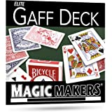 Magic Makers The Blue Gaff Deck - Over 40 Magic Tricks Can Be Performed with This Deck - For Intermediate To Advanced Users