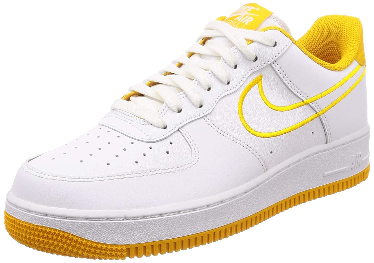 | Nike Men's Air Force 1 '07 Leather Shoe White