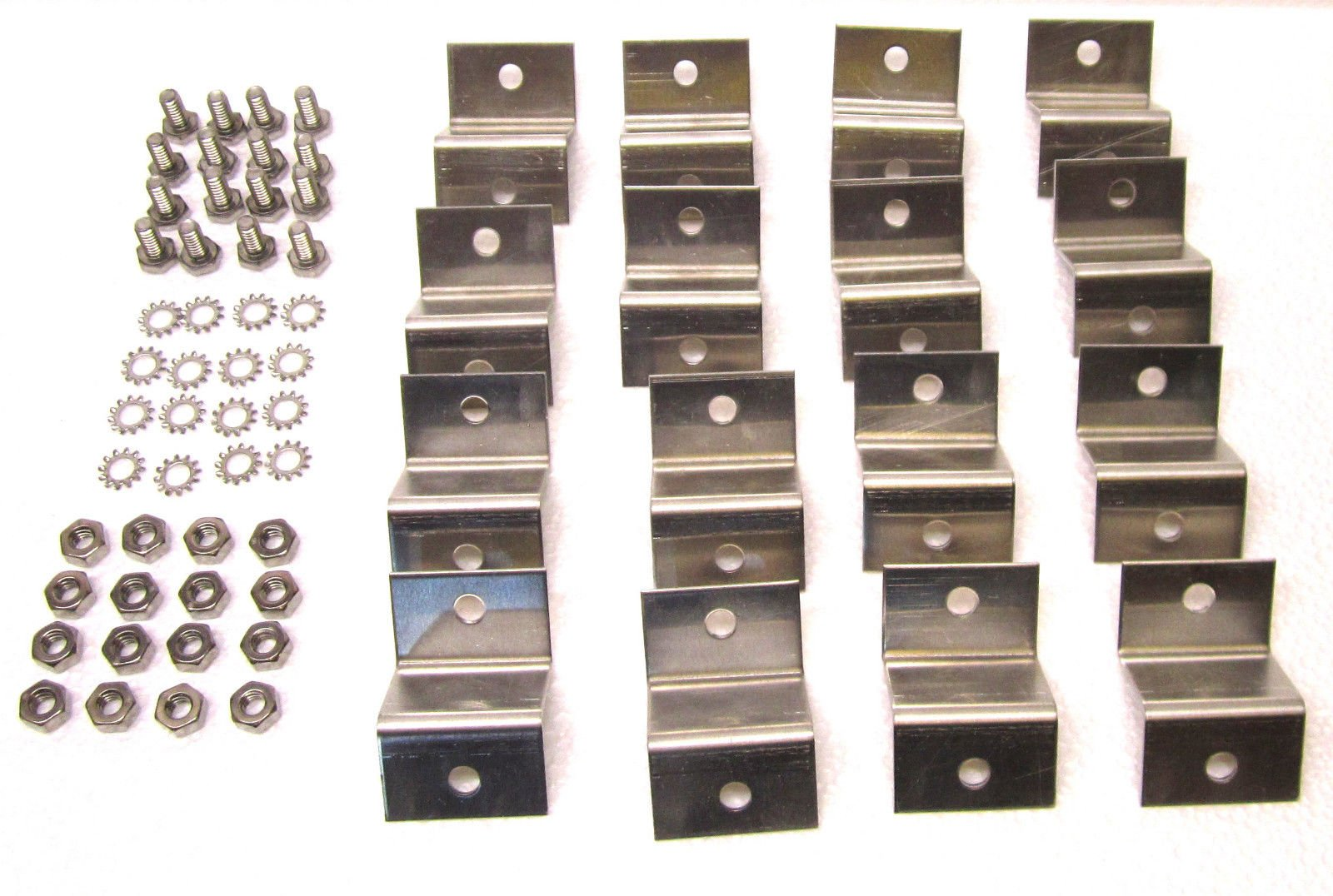 Solar Panel Z Bracket Mounting Kit (4 kits) USA