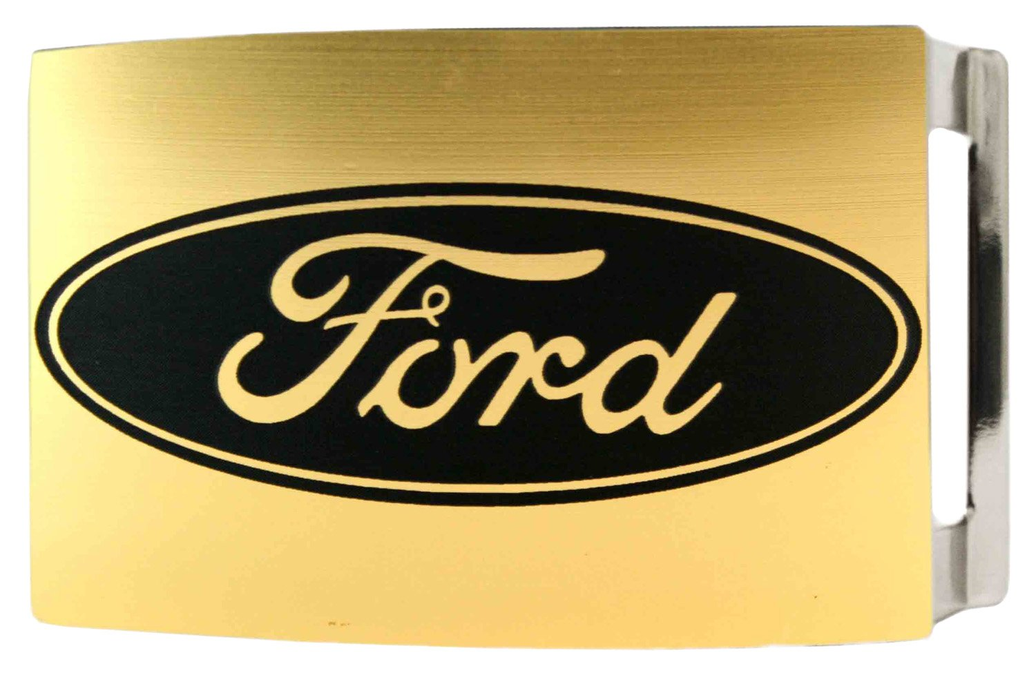 Ford Automobile Company Gold Back Logo Rockstar Belt Buckle Buckle Down