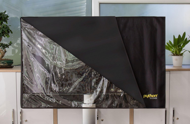 Python Series de TV Cover Indoor/Outdoor – wetterfester Universal protección para tu TV o Monitor 28