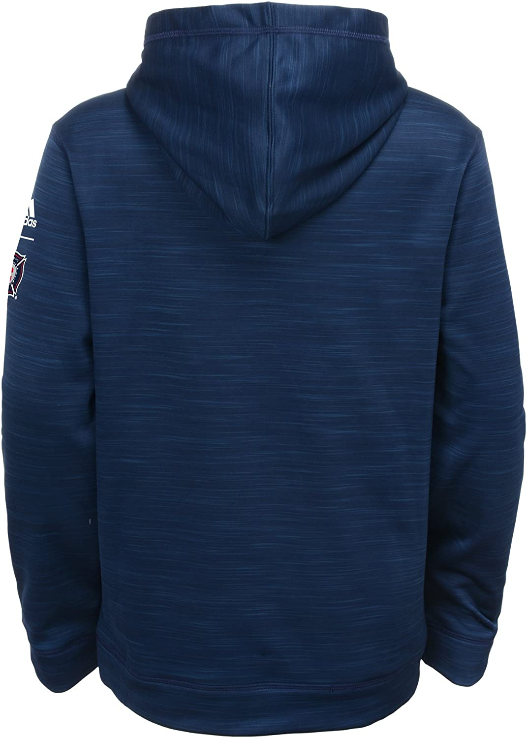 MLS by Outerstuff Boys Tactical Block Ultimate Hood 4 Heathered Collegiate Navy Kids Small