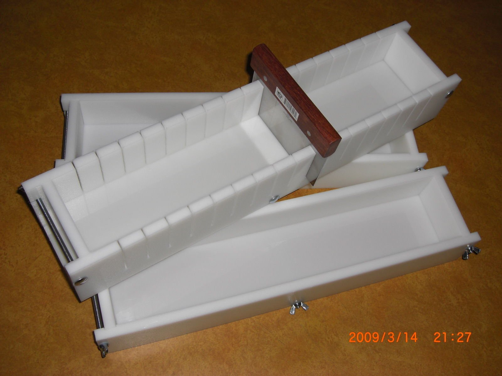 5-6 Lb Soap Molds & BAR Slicer SET